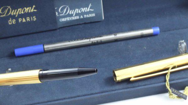 S.T. Dupont Classique Vermeil ballpoint pen
