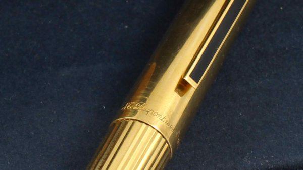 S.T. Dupont Classique / Classic Vermeil Fountain pen