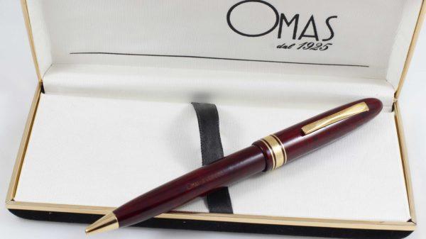 OMAS Amerigo Vespucci Briarwood Ballpoint Pen | Special Edition