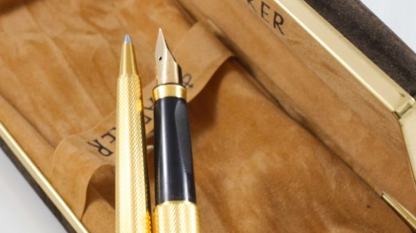 Parker Premier Grain d'Orge Fountain Pen & Ballpoint Pen Set