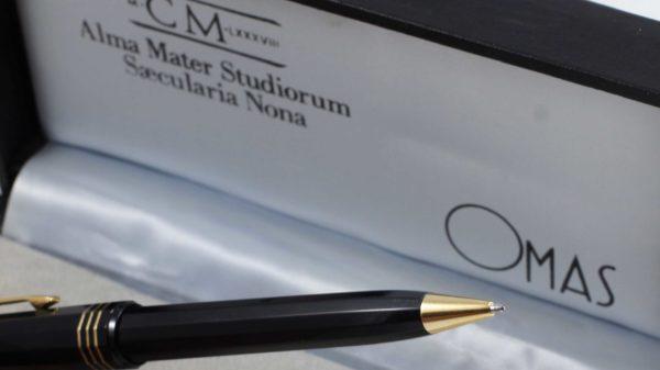 Omas m CM LXXXVIIINOS Alma Mater Studiorum Saecularia Nona Ballpoint Pen