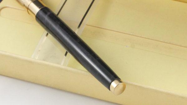 Best Pen Shop | Pelikan Celebry R590 Rollerball Pen Sapphire Black / Gray Gold Cap