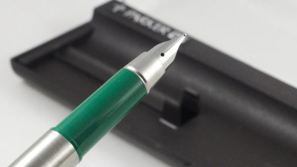 Best Pen Shop Collectable Rare Parker 25 Fountain Pen - Mark 1 Mk I Flat Top Green