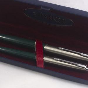 Best Pen Shop | Parker 21 Fountain Pen and Ballpoint Pen Set - Green
