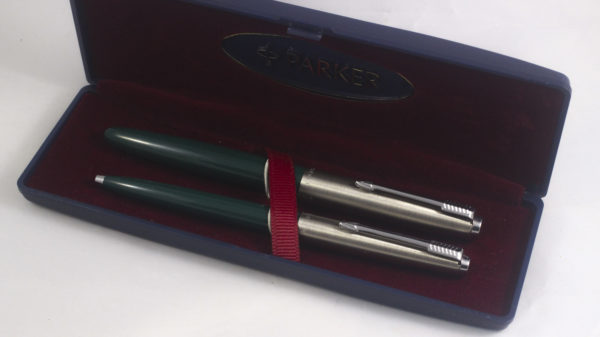 Best Pen Shop | Parker 21 Fountain Pen and Ballpoint Pen Set - Green