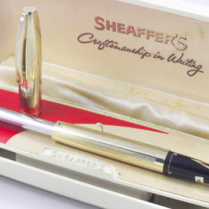 Best Pen Shop | Sheaffer's Sheaffer Imperial V Fountain Pen 14K Gold M Nib (NOS)