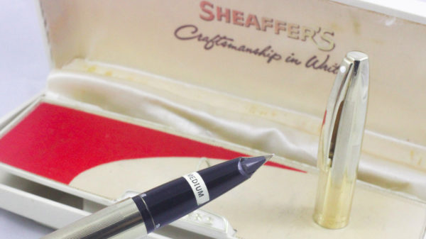 Best Pen Shop | Sheaffer's Sheaffer Imperial V Fountain Pen 14K Gold M Nib (NOS)