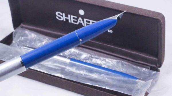 Sheaffer 440 (Imperial) Fountain Pen Set -Blue Medium- Fountain Pen & Ball Point (New Old Stock) by Best Pen Shop