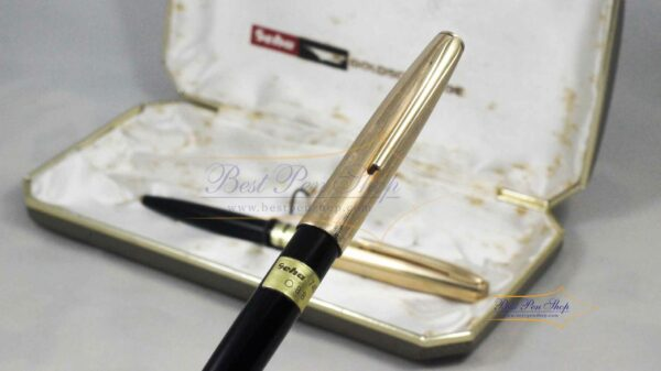 Geha Goldschwinge Fountain Pen 745 (OBB Nib) & 345 Ballpoint Set by Best Pen Shop