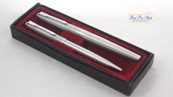 Best Pen Shop | Vintage Rare Collectable Parker 45 Harlequin Circle Fountain Pen & BallPoint Set