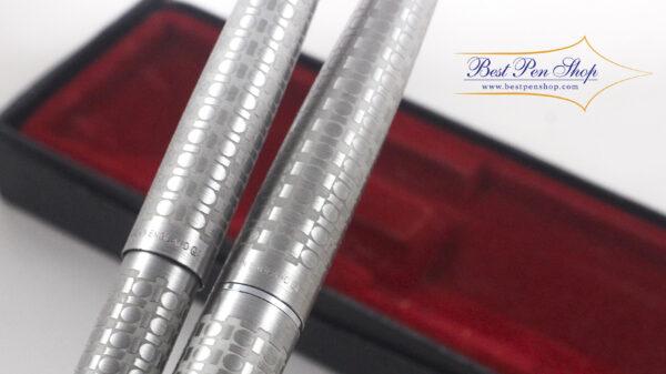 Best Pen Shop   Vintage Rare Collectable Parker 45 Harlequin Circle Fountain Pen & BallPoint Set