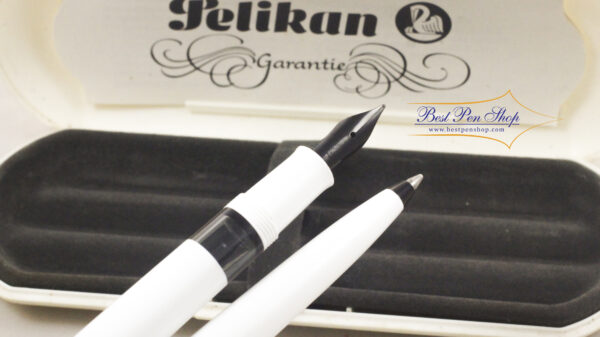 Best Pen Shop | Pelikan M100 SET Fountain Pen and Ballpoint White